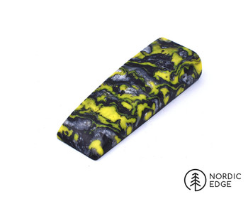 Inlace Acrylester Handle Block, Yellow Damascus