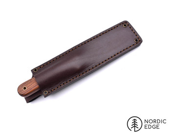 Brisa Kephart Kit with Pre-milled scales & Sheath,Curly Birch