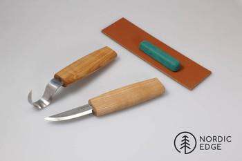 Beavercraft Spoon Carving Knife Set, RIGHT handed