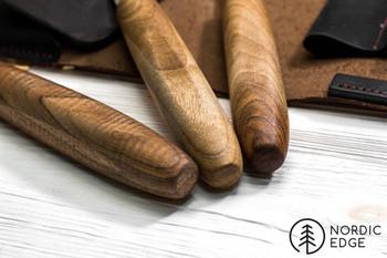 Beavercraft Sloyd Knife Set in Leather Folder S19X