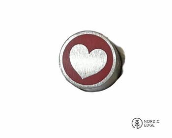 Mosaic Pin, 8 mm, HEART