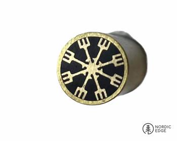 Mosaic Pin, 8 mm, VEGVISIR