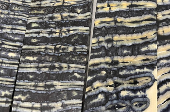 Mammoth Molar Handle Scales, Dark