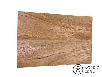 Golden Fijian Mahogany Handle Scales x 2