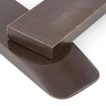 Micarta Handle Scales 8 mm  x 2 CACAO