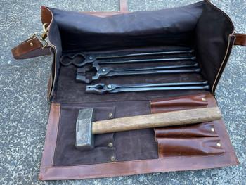 Blacksmith Tool Bag, Buffalo Leather