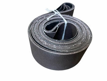 "Aluminum Oxide Belts, 2 x 48"", 5-pack"