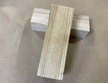 White Ash Handle Block
