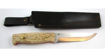 EnZo Camper Knife Kit, Curly Birch