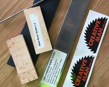 Basic Kit: Making both blade and handle