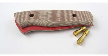 Brisa Handle Scales, Brown Micarta