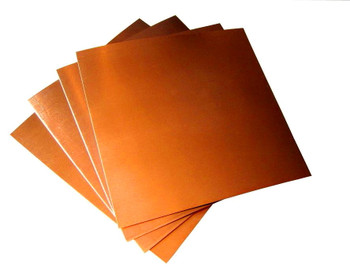 Spacer Material, Copper 40 x 40 x 1 mm