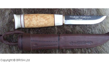 Kauhava Reindeer and Curly Birch Knife 105