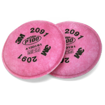 Particle Filters P100, for 3M Respirators
