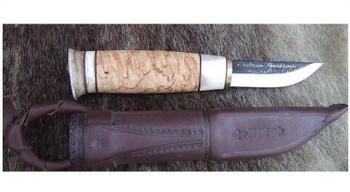 Kauhava 62, Reindeer and Curly Birch Knife
