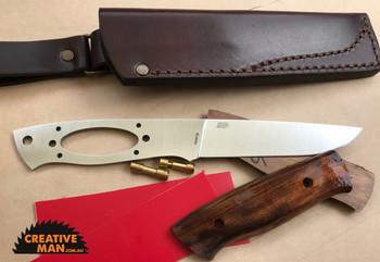 Brisa Trapper Knife Kit 115, Flat Grind, ELMAX steel