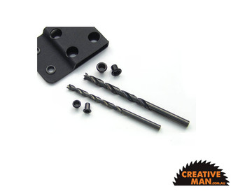"Kydex pro drill for 1/4"" Eyelets"
