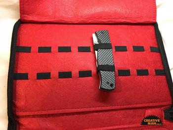 Folder Collection Bag for 16 folders, Black Cordura