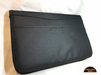 Folder Collection Bag for 16 folders, Black Cordura