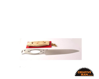 Showing this blade in a kit (the handle scales are not included with this product)