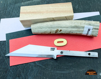 Broken Back Seax Knife Making Kit