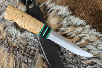 Tommi knife by Lynn Patrick from USA with Brisa Tommi 125 blade