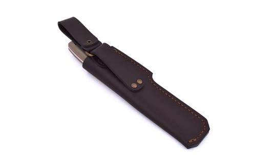 Brisa Trapper Knife 115, Flat Grind, Desert G10 (12c27)