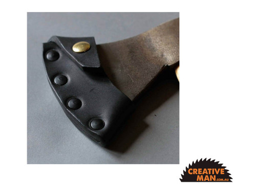 Spoon Carving Axe with Leather Sheath