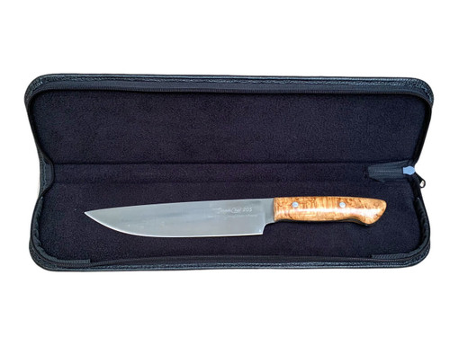 Padded Case for Knives, Deluxe Leather Model, 42 cm