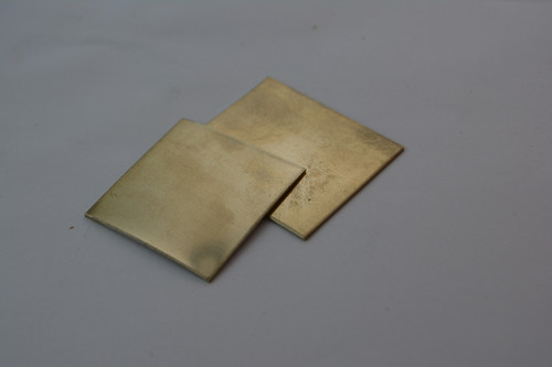 Spacer material, Nickel Silver