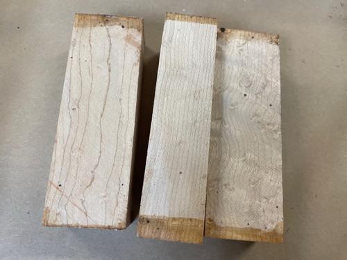Birdseye Maple Handle Scales x 2