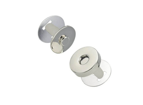 Magnetic Clasp, Nickel-free plating, 18 mm (2-pack)