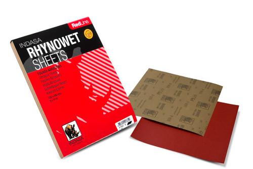 Rhynowet Metal Worker Abrasive Paper, 50-pack