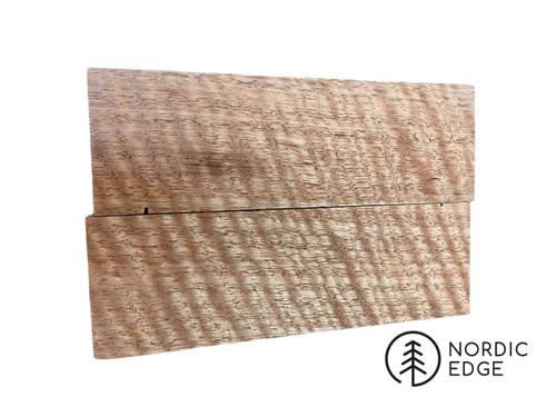 Figured Victorian Ash Handle Scales x 2