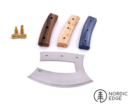 Note the kit comes with one set of handle scales, not all pictured options.