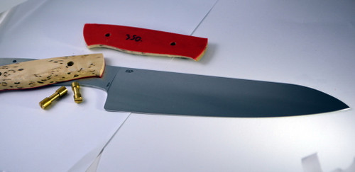 shown as a kit, with curly birch scales pre-shaped and corby bolts.