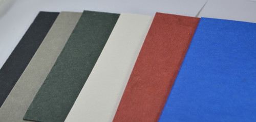 showing the colors of the vulcanised fibre spacer materials. these go between the blade and handle scales.