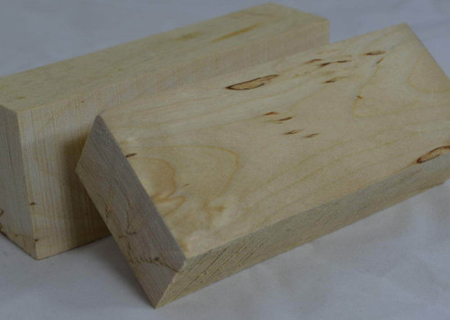 Silver Birch handle block (white birch wood)