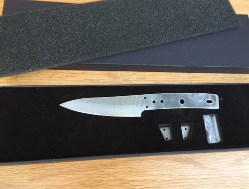 Damascus Paring Chef Blade, Stainless Steel