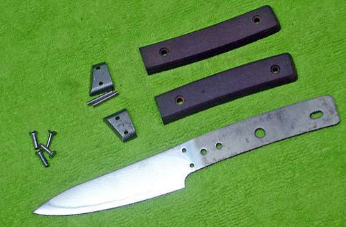 Instructions - Stainless Steel Damascus Kitchen Knife Kit