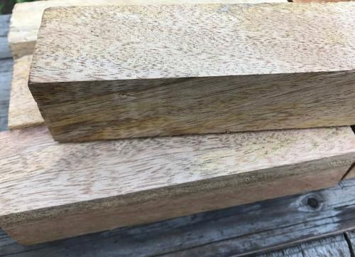 Figured Mango Wood, handle block