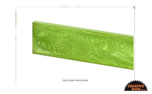 Juma Green Mamba, Handle Scales x 2