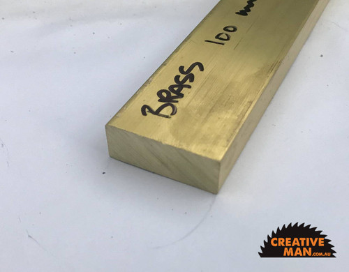 Brass Guard Block, 100 mm (25 x 9.5 mm)
