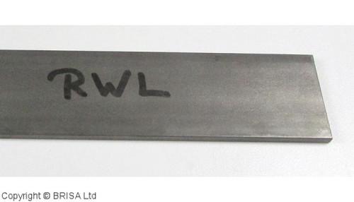 RWL 34,  3.5 x 38 x 500 mm, Damasteel