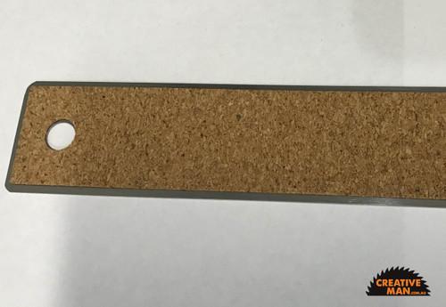 Crafter Steel Ruler, Cork Backing, 30 cm