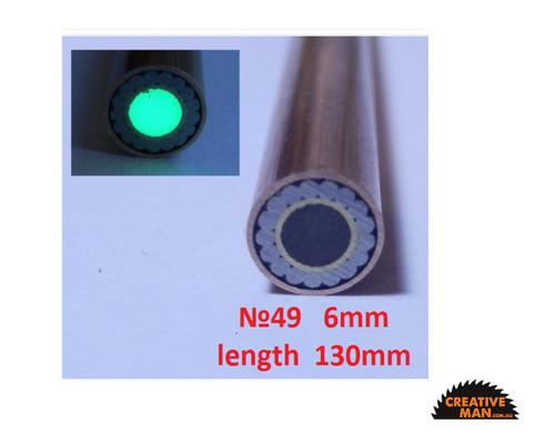 Mosaic Pin, 6 mm, No 49