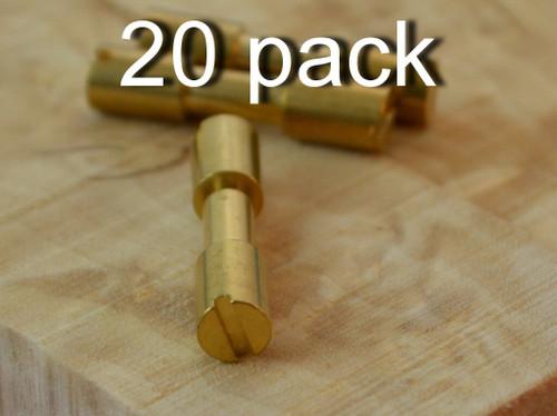 Corby Bolt, Brass (20 bolts)