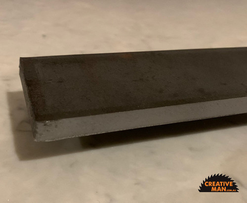 Carbon Knife Steel 1084, 10 x 50 x 1000 mm