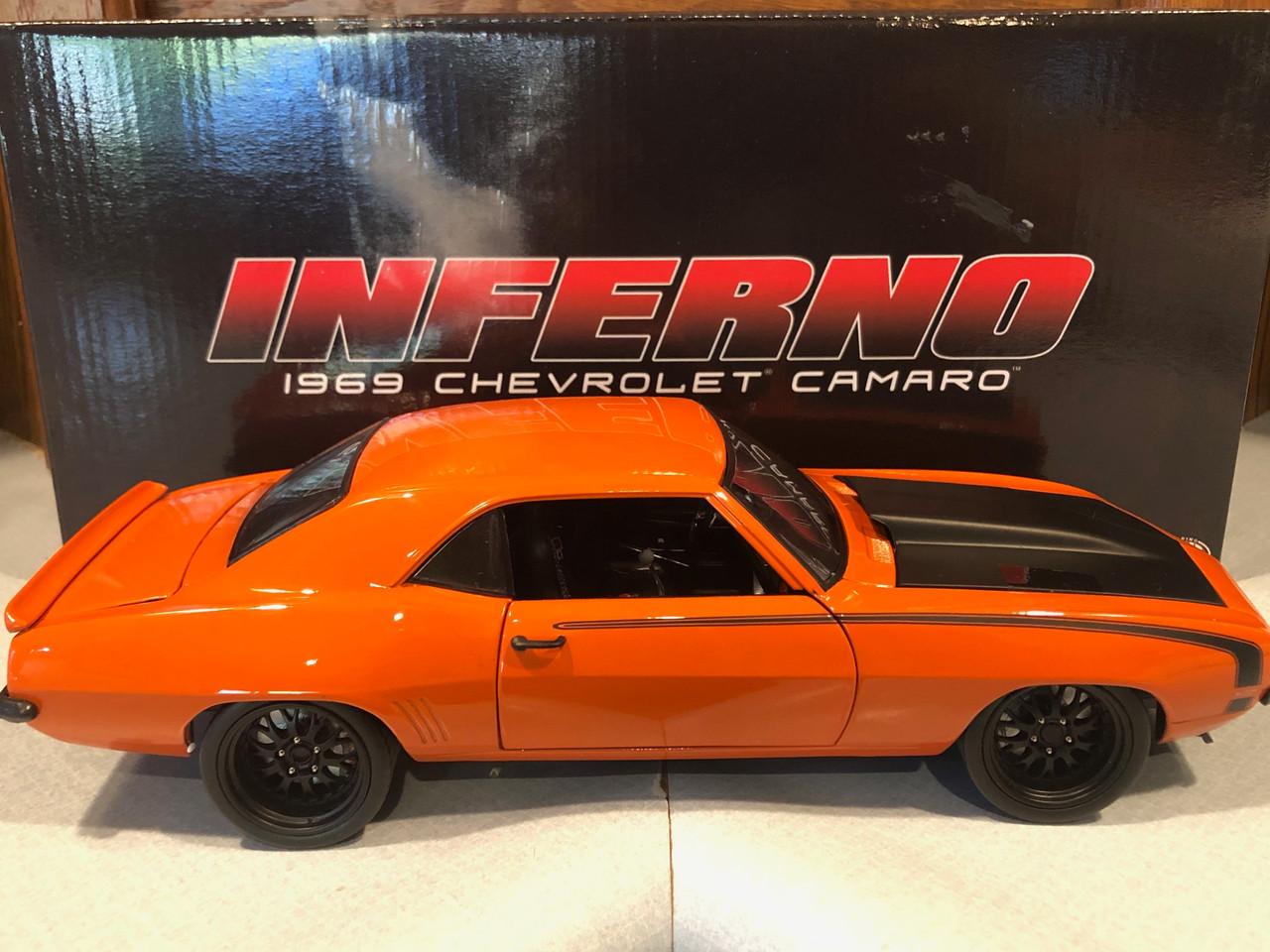 gmp 1//18 1969 chevy camaro Inferno street fighter NIB Acme