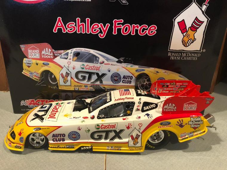 2009 Action Ashley Force Ronald McDonald House NHRA Funny Car 1/24 1 of 1500